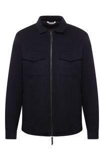 Кашемировая куртка на молнии Andrea Campagna