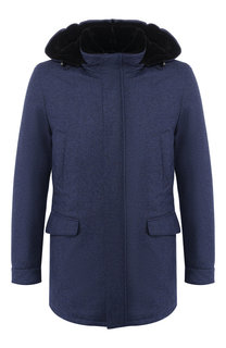 Куртка из смеси шерсти и кашемира Andrea Campagna