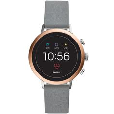 Смарт-часы Fossil Gen 4 - Venture HR Gray Silicone