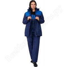 Зимняя куртка факел снежана темно-синяя/васильковая, р.44-46, рост 170-176 87469276.002
