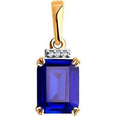 Золотые кулоны, подвески, медальоны Кулоны, подвески, медальоны SOKOLOV 6032079_s