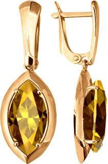 Серебряные серьги Серьги Aquamarine 4446919-S-g-a
