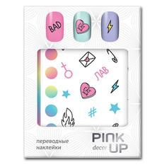 Наклейки для ногтей переводные PINK UP DECOR FUN тон 622