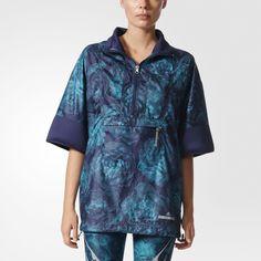 Куртка для бега Floral adidas by Stella McCartney