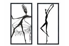Набор постеров Танцующие девушки Ангстрем