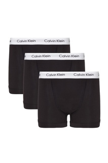 Набор черных боксеров средней посадки Calvin Klein