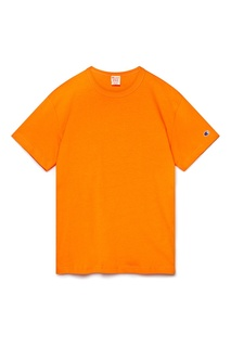 Оранжевая футболка с логотипом Champion