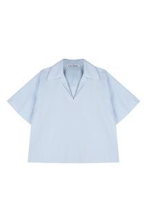 Голубая хлопковая рубашка Acne Studios