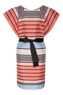 Платье-мини в полоску Emporio Armani