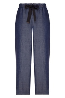 Синие брюки Emporio Armani