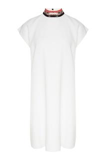 Платье-мини с рукавом-реглан Emporio Armani
