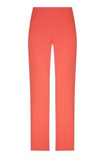 Прямые брюки кораллового оттенка Emporio Armani