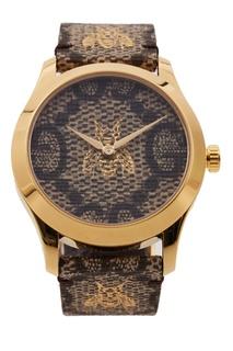 Часы G-Timeless с мотивом GG и пчелами Gucci