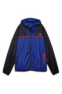 Черно-синяя куртка с капюшоном The North Face