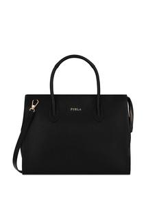 Черная сумка-тоут Pin Furla