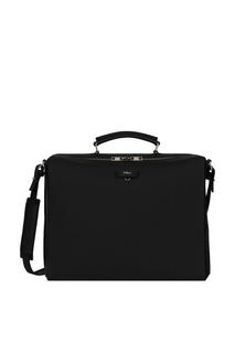 Черная кожаная сумка Marte Furla
