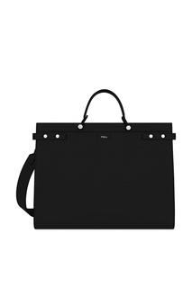 Черная сумка Man Mercurio Furla