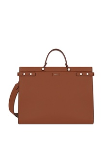 Коричневая сумка Man Mercurio Furla