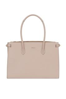 Пудрово-розовая сумка Pin Furla
