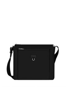 Черная кожаная сумка Man Ulisse Furla