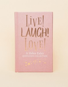 Книга цитат Live Laugh Love - Мульти Allsorted