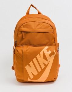 Оранжевый рюкзак с логотипом Nike Elemental - Оранжевый