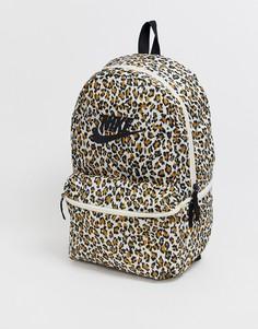 Рюкзак с леопардовым принтом Nike heritage - Мульти