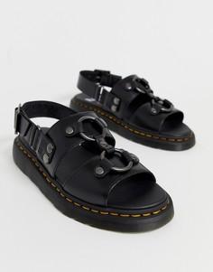 Черные сандалии Dr Martens Xabier - Черный