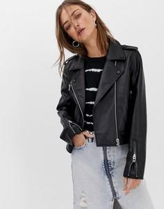 Байкерская куртка Blank NYC - Черный