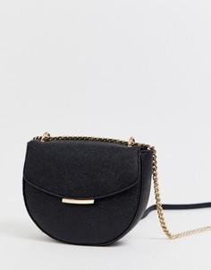 Полукруглая сумка через плечо Aldo - Черный