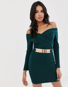 99aebd33444 Женские короткие платья с открытыми плечами – купить короткое платье ...