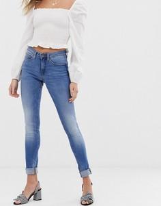 Зауженные джинсы Blend She - Bright Azura - Синий