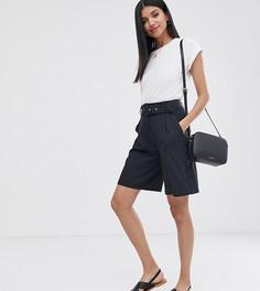 Строгие шорты с поясом Vero Moda Tall - Aware - Черный