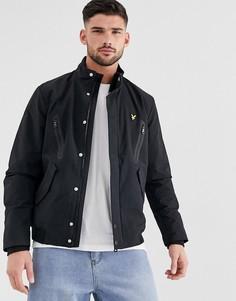 Куртка со вставками Lyle & Scott - Черный