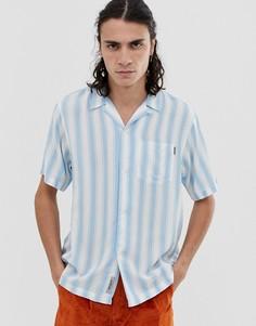 Синяя свободная рубашка в полоску Carhartt WIP Esper - Синий