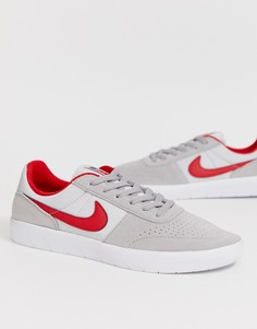 Классические кроссовки Nike SB Team - Серый