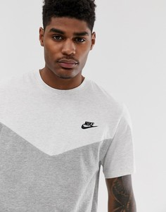 Футболка с логотипом Nike - Серый