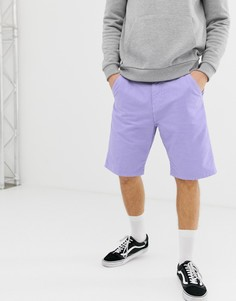Фиолетовые шорты Carhartt WIP Chalk - Фиолетовый