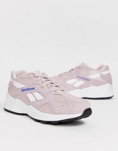 Розовые кроссовки Reebok Aztrek - Розовый