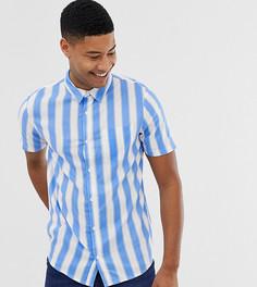 Рубашка в полоску с короткими рукавами Another Influence - Белый