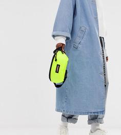 Эксклюзивная неоново-желтая сумка-кошелек на пояс Eastpak Springer - Желтый