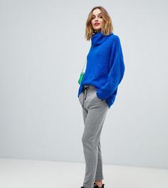 Мягкие брюки с принтом Esprit - Серый