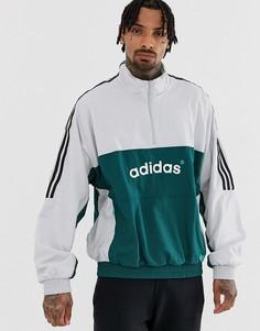 Ветровка без застежки adidas Originals Authentic DH3841 - Зеленый