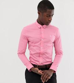 Розовая приталенная поплиновая рубашка Jack Wills эксклюзивно для ASOS - Розовый