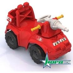 Машина-каталка Нордпласт Пожарная машина (431014) Нордпласт.