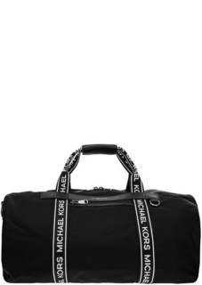 Сумка-рюкзак Текстильная сумка-рюкзак с логотипом бренда Kent Michael Kors