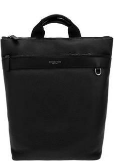 Сумка-рюкзак Кожаная сумка-рюкзак с карманами Greyson Michael Kors