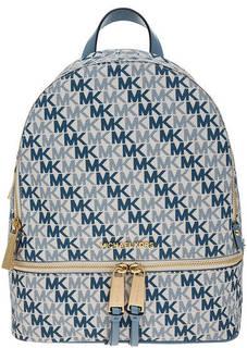 Рюкзак с монограммой бренда Rhea Zip Michael Kors