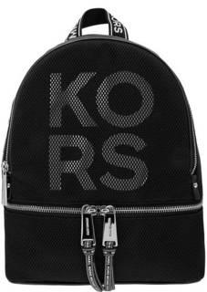 Рюкзак Текстильный рюкзак с широкими лямками Rhea Zip Michael Kors