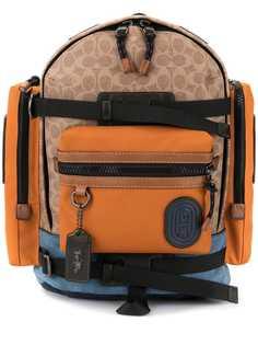 Coach рюкзак с карманами и ремнями